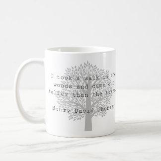 Thoreau Inspirational Classic Mug