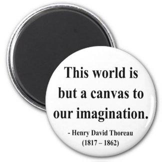 Thoreau Quote 3a Magnet