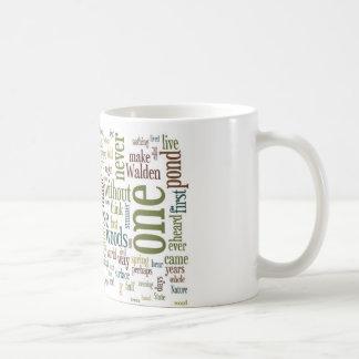 Thoreau Walden Mug