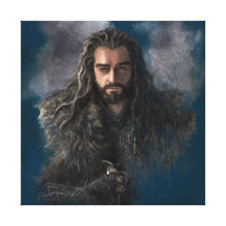 THORIN OAKENSHIELD™ Illustration Stretched Canvas Prints