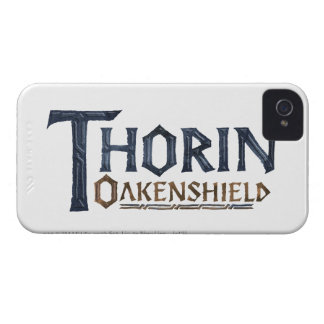THORIN OAKENSHIELD™ Logo Blue iPhone 4 Cases