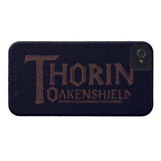 THORIN OAKENSHIELD™ Logo Brown iPhone 4 Covers