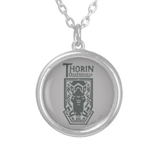 THORIN OAKENSHIELD™ Shield Symbol Silver Plated Necklace