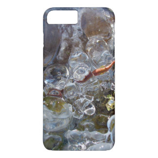 Thorn in Round Bubbles of Ice from Freezing Rain iPhone 7 Plus Case