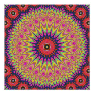 Thorn mandala perfect poster