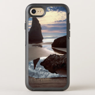 Thorn-Shaped seastack | Face Rock Wayside, OR OtterBox Symmetry iPhone 8/7 Case