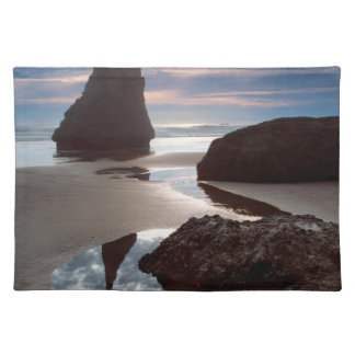 Thorn-Shaped seastack | Face Rock Wayside, OR Placemat