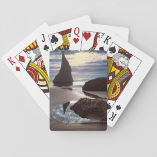 Thorn-Shaped seastack | Face Rock Wayside, OR Playing Cards
