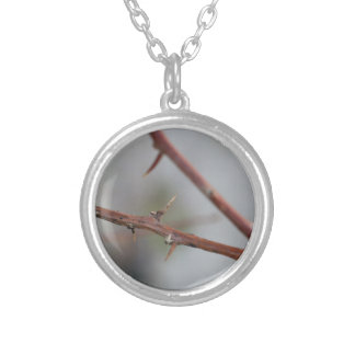 Thorns Silver Plated Necklace