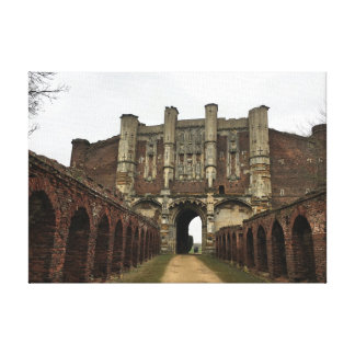 Thornton Abbey Gate House - Heritage & History Canvas Print