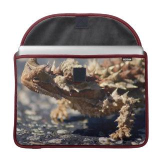 "Thorny Devil Lizard, Outback Australia, Photo 15"" Sleeve For MacBooks"
