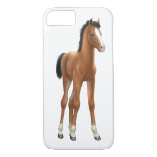 Thoroughbred Horse Foal iPhone 7 Case
