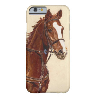 Thoroughbred Horse iPhone 6 case Barely There Case