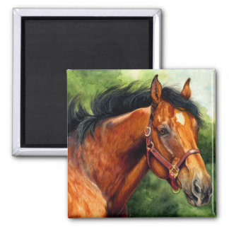 Thoroughbred Horse Magnet