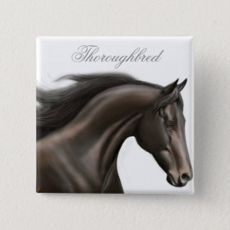 Thoroughbred Horse Pin