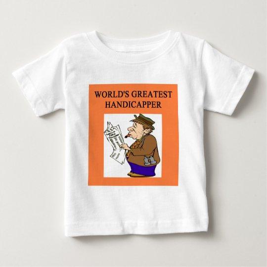 thoroughbred horse racing baby T-Shirt