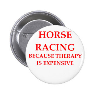 thoroughbred horse racing button
