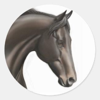 Thoroughbred Horse Sticker