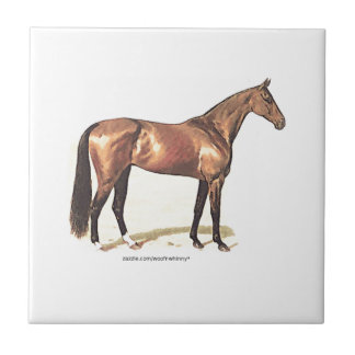 Thoroughbred Horse Tile