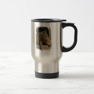 Thoroughbred Horses Stainless Travel Mug