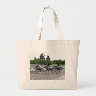 Thoroughbred Park Large Tote Bag