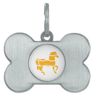 thoroughbred pet tag