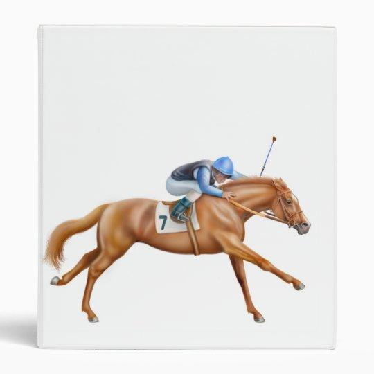 Thoroughbred Race Horse Binder
