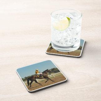 Thoroughbred Race Horse  Set of Coasters
