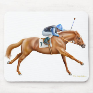 Thoroughbred Racehorse Mousepad