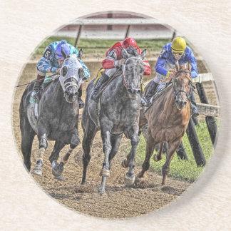 Thoroughbreds Close Race Coaster