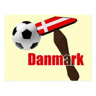 Thors Hammer Danmark Dynamite Fodbold 2014 Postcard