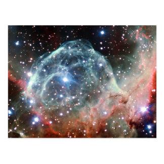 Thor's Helmet Nebula Space Postcard