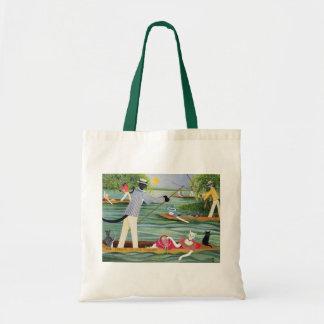 Those Summer Punts Budget Tote Bag