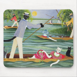 Those Summer Punts Mouse Pad