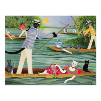 Those Summer Punts Postcard