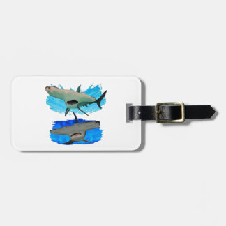 THOSE TWO HAMMERS LUGGAGE TAG