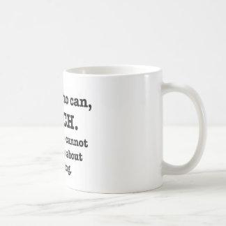 Those who can, teach coffee mug