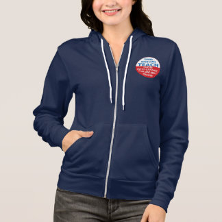 Those Who Can, Teach Women's Flex Fleece ZipHoodie Hoodie
