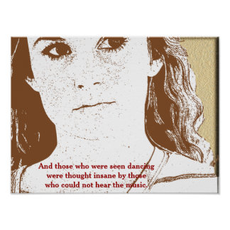 Those who were seen - poster art