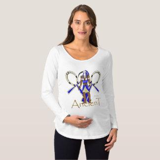 Thoth Ancient Maternity Long Sleeve Shirt