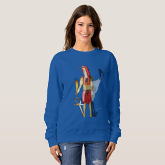 Thoth Ghostly Shadows Ladies Sweatshirt