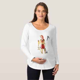 Thoth Ghostly Shadows Maternity Long Sleeve Shirt