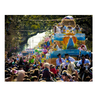 Thoth Mardi Gras Postcard