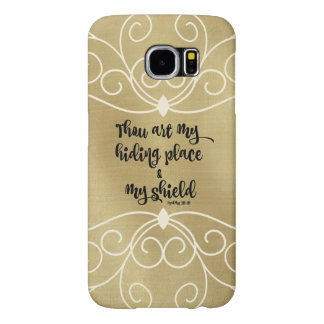 Thou Art My Hiding Place Psalms Verse Samsung Galaxy S6 Cases