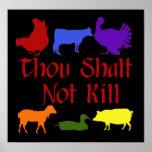 Thou Shalt Not Kill Poster