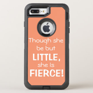 Though she be but little... Otter Box OtterBox Defender iPhone 7 Plus Case