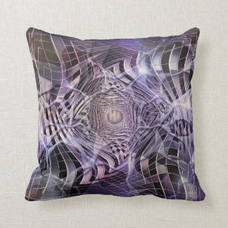 THOUGH THE LILAC LOOKING GLASS THROW PILLOW