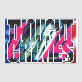 Thought Crimes Sticker