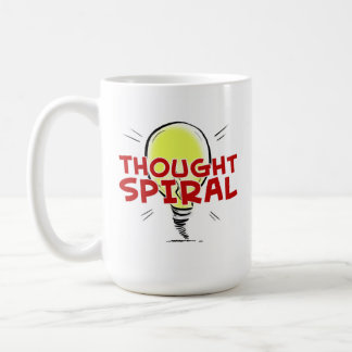 "Thought Spiral ""I'm With Mug"" 15 oz. Mug"