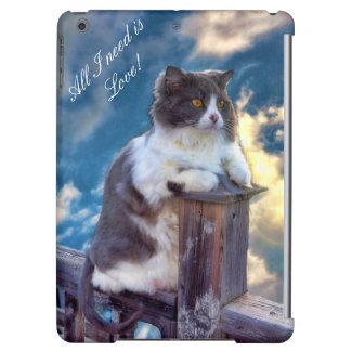 Thoughtful Cat QPC Cover For The iPad Mini